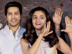 Alia Bhatt and Varun Dhawan launches music of Marathi film Bhikari