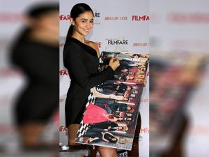 Alia Bhatt during the launch of Filmfare
