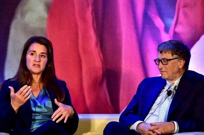 Bill Gates, Melinda Gates, conversation, author Chetan Bhagat, programme, All Lives Have Equal Values, New Delhi