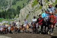 First batch of 5100 pilgrims flagged off for Amarnath yatra