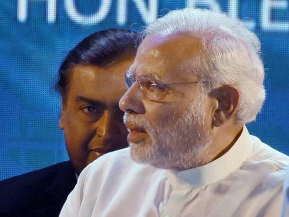 Ambani, Mukesh Ambani, Anil Ambani, Narendra Modi, Digital India, Reliance, Wipro, Birla, Vedanta Group, Arun Jaitley