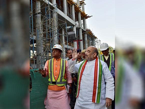 BJP headquarter, Amit Shah, BJP president, new headquarters, Deendayal Upadhyaya Marg
