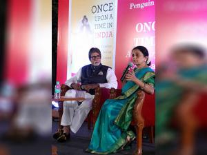 Amitabh Bachchan at the launch of a book  'Once Upon A Time in India - Century of Indian Cinema' author by Bhawana Somaaya,in Mumbai