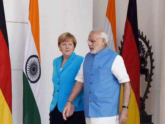 Angela Merkel, Prime Minister of India, Narendra Modi, Angela Merkel in New Delhi, Merkel in India, Merkel Modi meet, Angela Merkel India Visit, PM Modi, India Germany