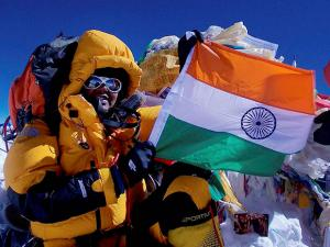 Anita Kundu, a Sub-Inspector in Haryana Police,  scaled Mount Everest