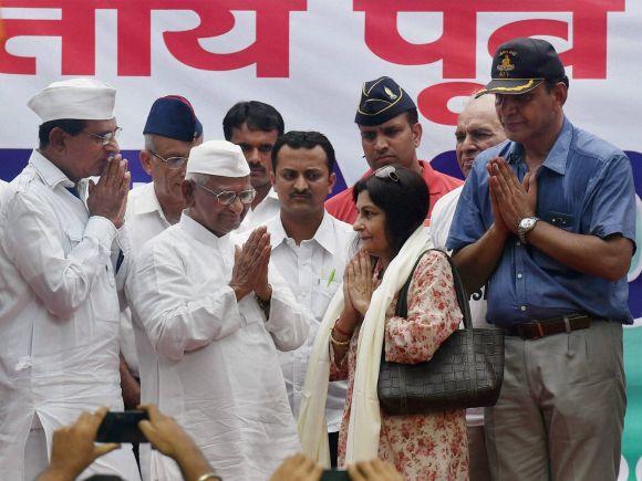 Anna Hazare, One Rank One Pension, OROP, OROP Scheme, Ex-servicmen, Hunger Strike, Jantar Mantar, New Delhi