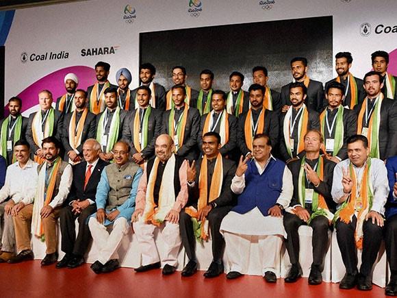 Amit Shah, Vijay Goel, Sports Minister, Rio Olympics, India hockey, indian hockey team