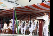 Defence Minister Arun Jaitley during speaks
