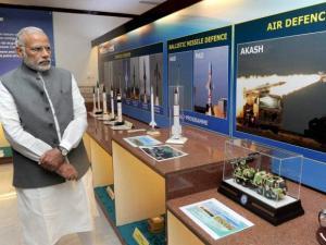 "Prime Minister, Narendra Modi visits the exhibition ""A Celebration of Dr Kalam's Life"","