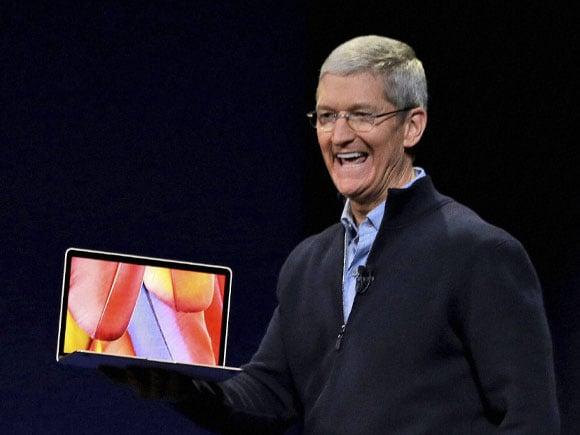 Apple, Apple Watch, CEO,  Tim Cook, Tap, Apple MacBook