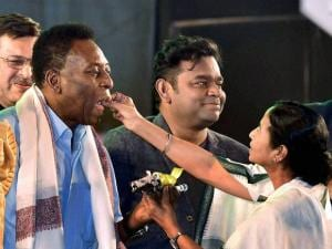 King Pele enthrals Kolkata after 38 years