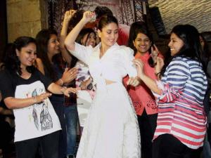 Actress Kareena Kapoor during the promotion of her upcoming film Ki and Ka in Mumbai