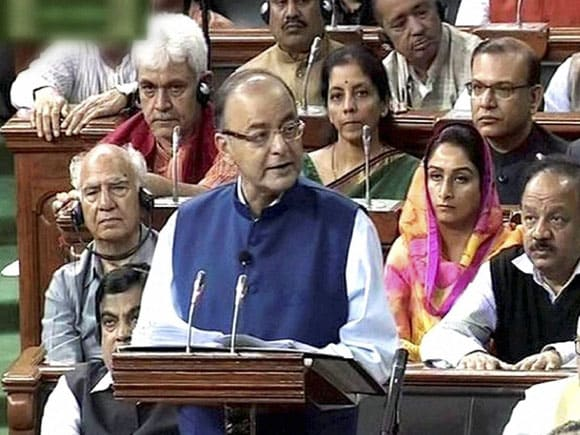Union Finance Minister of India,  Arun Jaitley, Lok Sabha, Parliament
