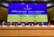 Finance Minister Arun Jaitley along with MoS Finance Jayant Sinha