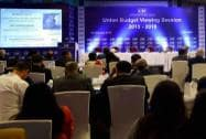 Industrialists during the Union Budget Viewing Session 2015- 16