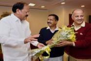 Arvind Kejriwal to meet Venkaiah Naidu today
