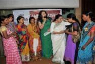 Poonam Dhillon and Asha Bhosle