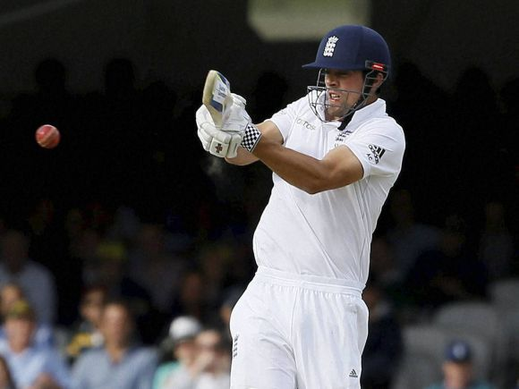 Alastair Cook, Mitchell Johnson, England, Australia, Lord, Ashes Test, 2nd Test, London