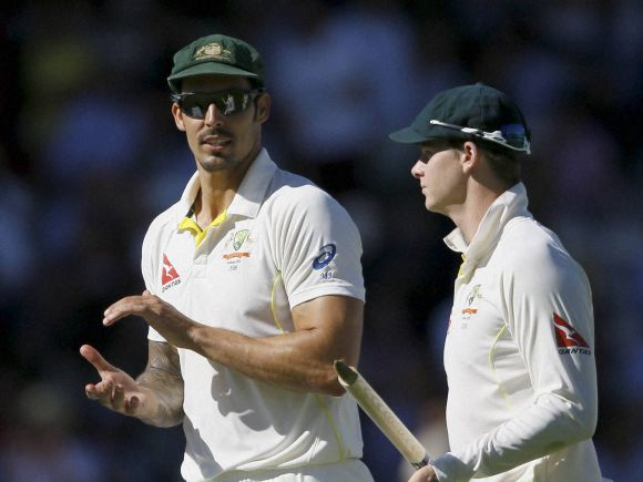 Mitchell Johnson, Steven Smith, England, Australia, Lord, Ashes Test, 2nd Test, London