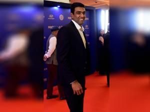 R Ashwin during the BCCI Annual awards in Bengaluru