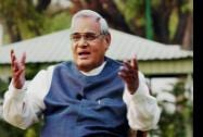 Former Prime Minister Atal Bihari Vajpayee who was chosen for the country's highest civilian award Bharat Ratna