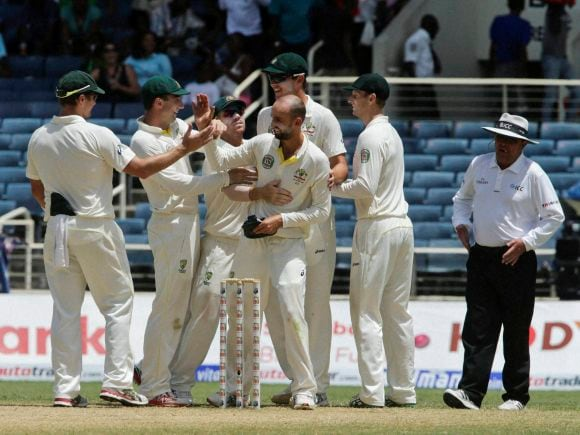 Nathan Lyon, Australia, West Indies, Frank Worrell Trophy, Kingston, Jamaica, Test match