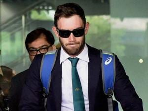 Australian cricketer at NSCBI Airport for the T 20 World Cup match in Kolkata