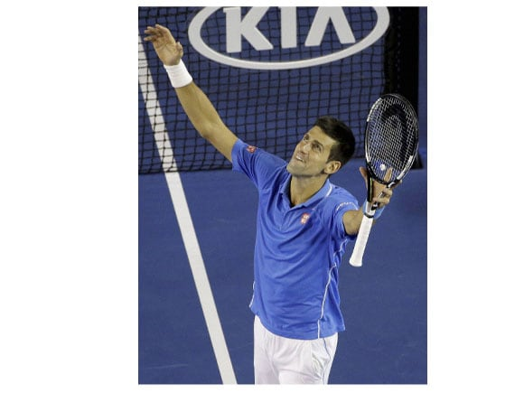 Australian Open tennis championship, Novak Djokovic , Andy Murray