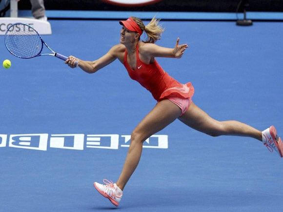 Australian Open tennis championship  in Melbourne,Maria Sharapova of Russia, Andy Murray of Britain, Rafael Nadal of Spain, Rafael Nadal,Tomas Berdych, Maria Sharapova, Andy Murray