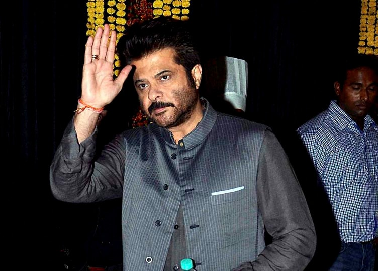 Bollywood actor, Anil Kapoor, during, Diwali, celebrations, Mumbai