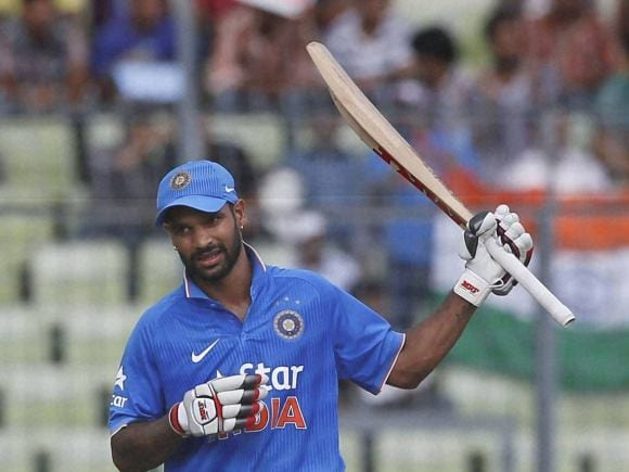 Shikhar Dhawan, India, Bangladesh, Dhaka, ODI series, Second One-Day International