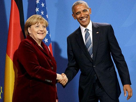 Barack Obama, Angela Merkel, German Chancellor, U.S. President