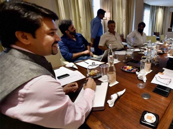 India, Zimbabwe, BCCI, Anurag Thakur, Roger Binny, Vikram Rathor, Saba Karim, New Delhi