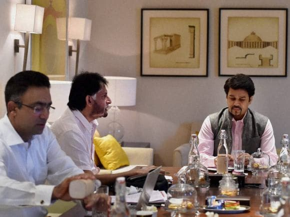India, Zimbabwe, BCCI, Anurag Thakur, Sandeep Patil, Roger Binny, Vikram Rathor, Saba Karim, New Delhi