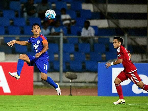 AFC Cup 2016, Sunil Chhetri, Bengaluru FC, Johor Darul