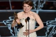 Julianne Moore accepts the award for best actress