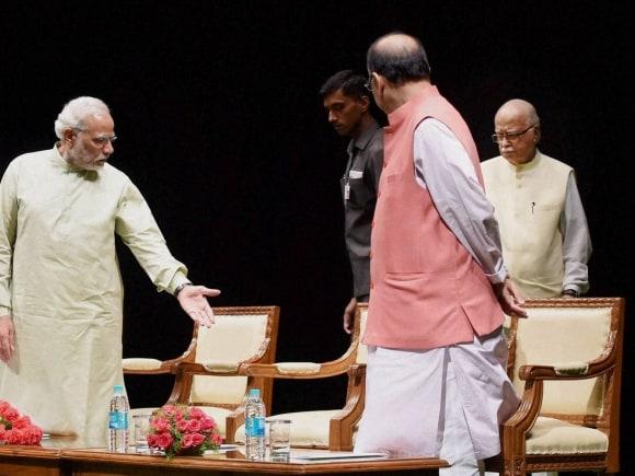 Prime Minister of India, Narendra Modi, Finance Minister of India, Arun Jaitley, Advani, Venkaiah Naidu, Lok Sabha, Rajya Sabha, Parliament, BJP Parliamentary Board, New Delhi