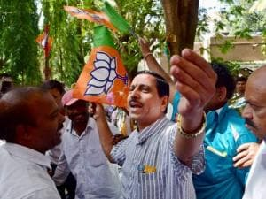 Karnataka BJP President Prahlad Joshi