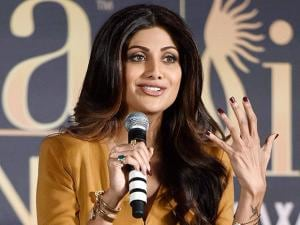 Shilpa Shetty during a press conference of IIFA awards in Mumbai