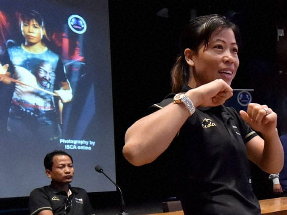 Mary Kom,  Box Out, Boxer, Social Campaign,  Event,  IIT