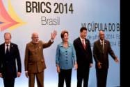 Prime Minister Narendra Modi official photo Chinese President, Xi Jinping, Russian President, Vladimir Putin, Brazil's President, Dilma Rousseff and South African President, Jacob Zuma  at BRICS summit in Ceara events