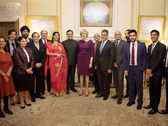 Theresa May, Diwali, Indian entrepreneurs, British Prime Minister, 10 Downing Street