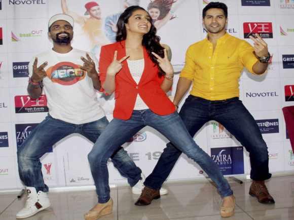 Varun Dhawan, Shardha Kapoor, Remo D' Souza, ABCD 2, Ahmedabad