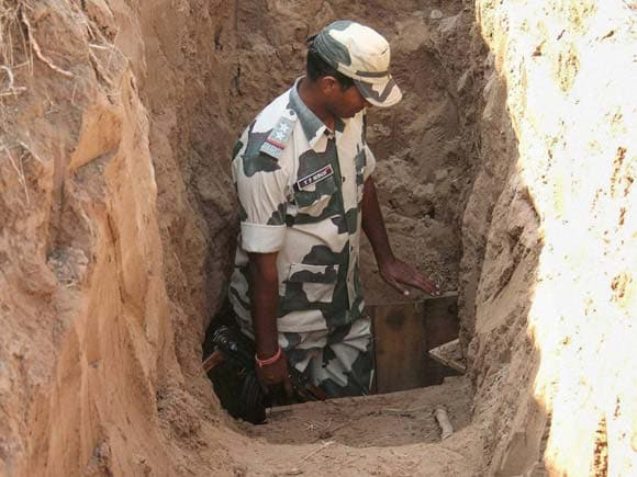 Border Security Force, BSF, India Pakistan Tunnel Issue, india pakistan border, india pakistan news, indian army news