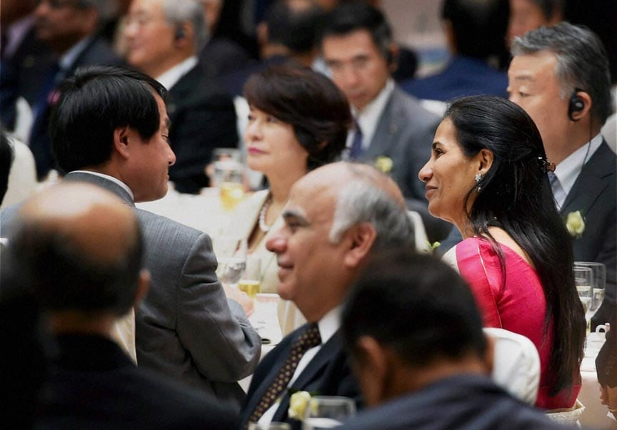 Chanda Kochhar, MD & CEO, ICICI Bank, business, luncheon, addressed, Prime Minister Narendra Modi, Tokyo