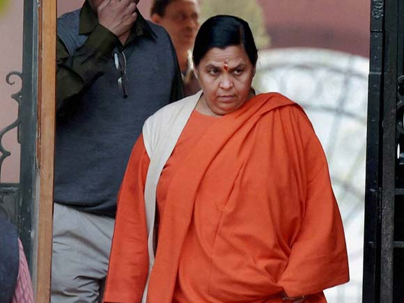 Uma Bharti, Union Ministers, Cabinet meeting, New Delhi