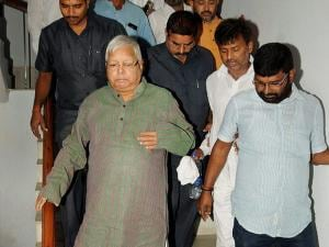 RJD Chief and former Bihar Chief Minister Lalu Prasad Yadav