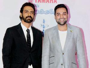 Arjun Rampal and Abhay Deol