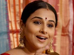 Vidya Balan at an event in Mumbai