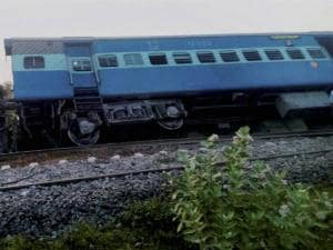 Restoration work being carried out where six coaches of Chennai-Mangalore Express derailed